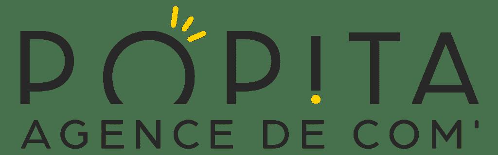nouveau logo agence de com' POPITA